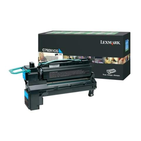 Lexmark C792X1CG Toner als Rückgabe Toner für