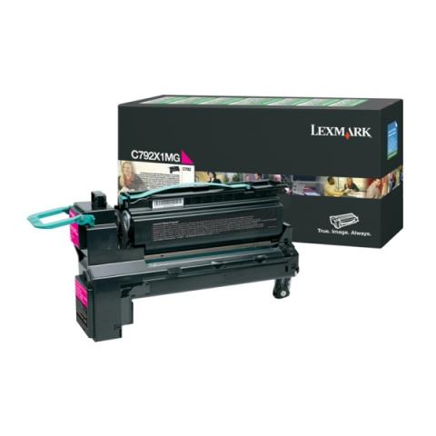 Lexmark C792X1MG Toner als Rückgabe Toner für