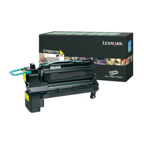 Lexmark C792X1YG Toner als Rückgabe Toner für