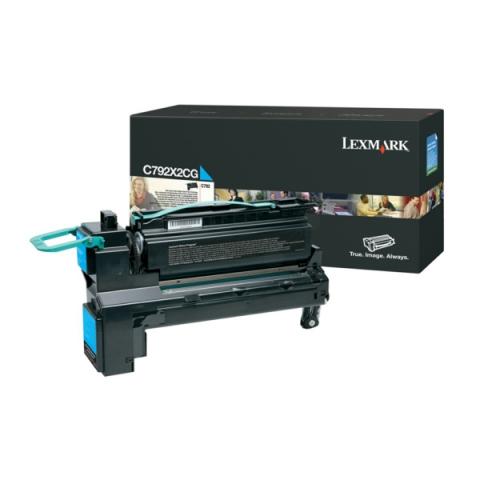 Lexmark C792X1KG Toner als Rückgabe Toner für