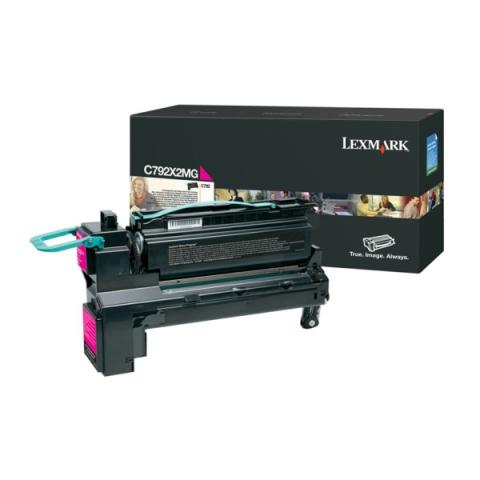 Lexmark C792X2MG Toner Kapazität ca.20.000