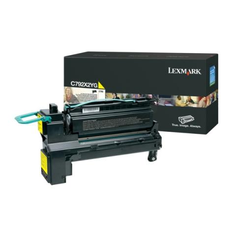Lexmark C792X2YG Toner Kapazit�t ca.20.000