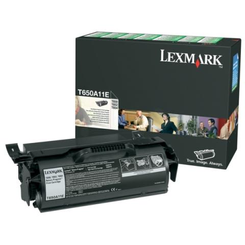 Lexmark 0T650A11E Toner für T650N , T652N ,
