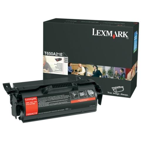 Lexmark 0T650A21E Toner für ca. 7.000 Seiten