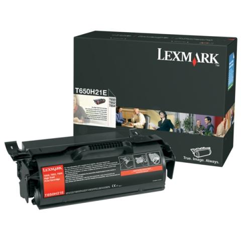 Lexmark 0T650H21E Toner für T650N , T652N ,