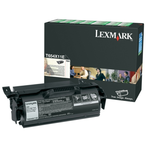 Lexmark 0T654X11E Toner f�r ca. 36.000 Seiten