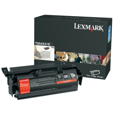 Lexmark 0T654X21E Toner für ca. 36.000 Seiten