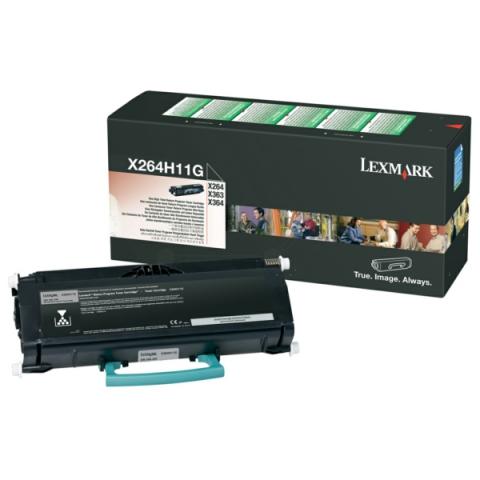 Lexmark 0X264H11G Toner für X 264 DN, X 363