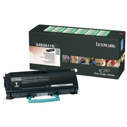 Lexmark 0X463A11G Toner für ca. 3500 Seiten