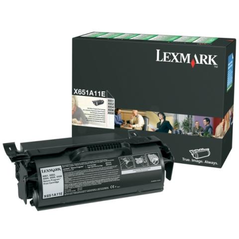 Lexmark 0X651A11E Toner für X654DE , X656DE ,