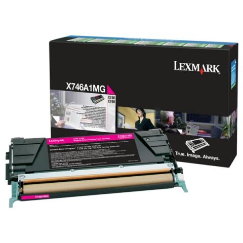 Lexmark X746A1MG Toner, original aus dem