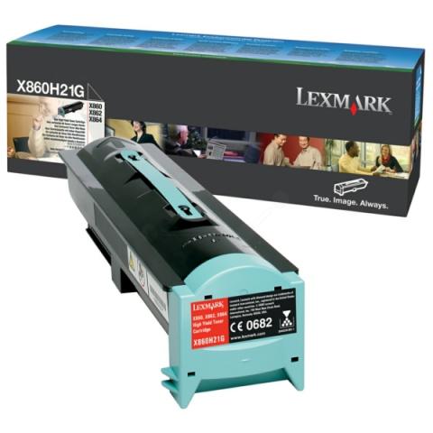 Lexmark 0X860H21G Toner original f�r X860DE3 ,