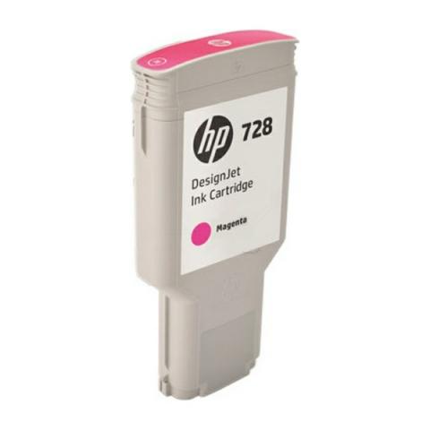 HP F9K16A original HP Tintenpatrone No. 728 mit