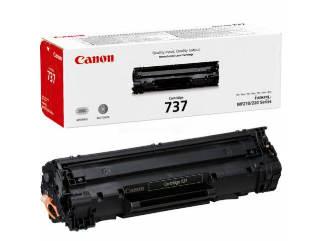 9435B002 Toner für I-Sensys MF 210 / MF 220, original 737 von Canon für ca. 2.400 Seiten in