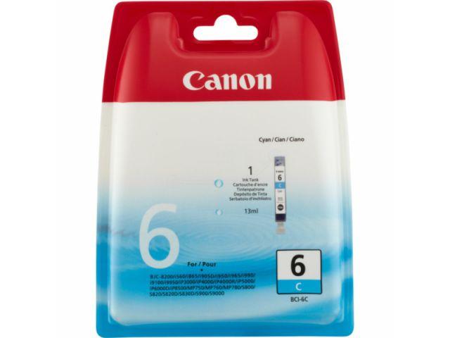 BCI-6C original Druckerpatrone von Canon für optimale Druckergebnisse, cyan