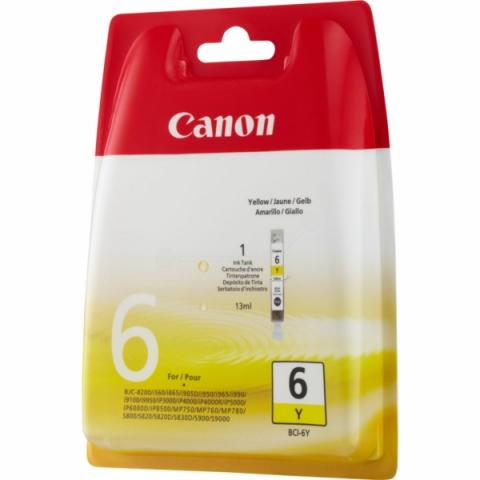 Canon BCI-6Y original Druckerpatrone von für