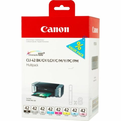 Canon CLI-42 Multipack Druckerpatronen mit