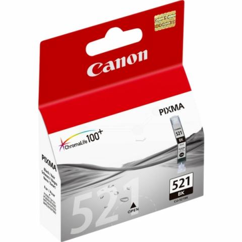 Canon CLI-521Bk Druckerpatrone mit 9 ml