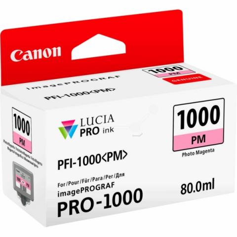 Canon Tintenpatrone PFI1000PM, 80 ml, passend