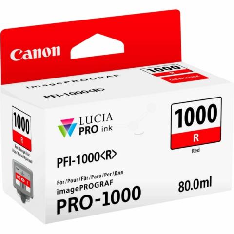 Canon Tintenpatrone PFI1000R, 80 ml, passend f�r