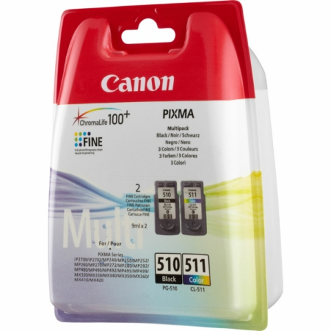 Canon PG-510CL Multipack 2970B010 mit PG-510 und