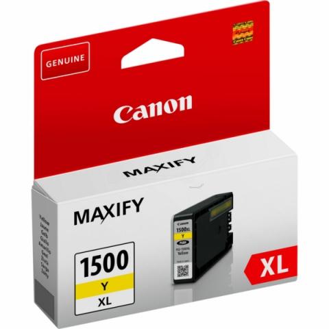 Canon PGI-1500XLY Tintenpatrone mit 12 ml