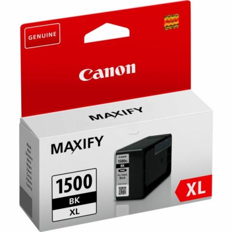 Canon PGI-1500XLBK Tintenpatrone mit 34, 7 ml