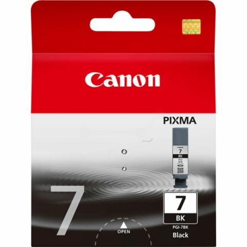 Canon PGI-7BK Tintenpatrone PGI-7BK, für ca. 565