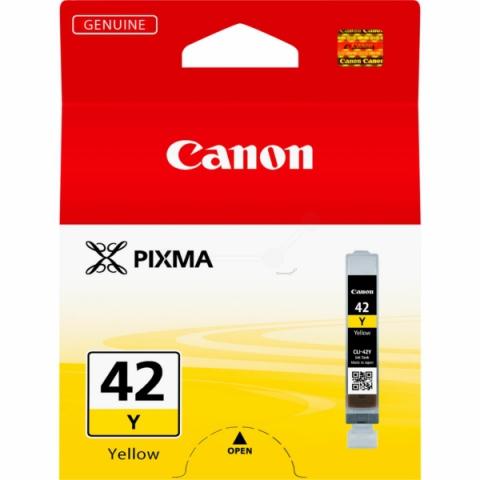 Canon CLI-42Y Tintenpatrone mit 13 ml,