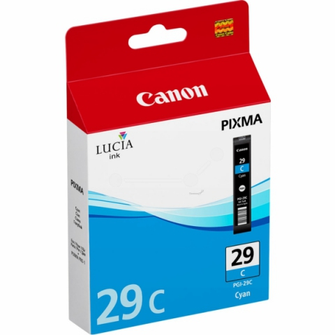 Canon PGI-29C Tintenpatrone für ca. 1.940 Seiten