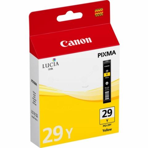 Canon PGI-29Y Tintenpatrone für ca. 1.420 Seiten