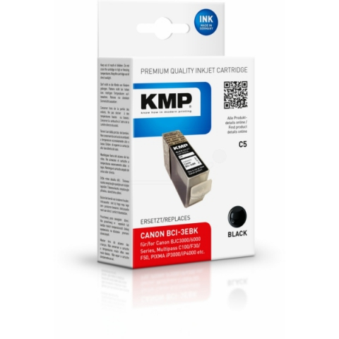 KMP Druckerpatrone ersetzt original Canon