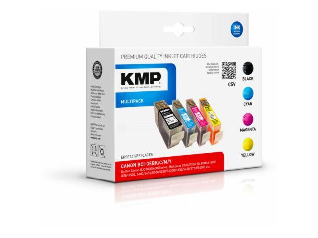 Multipack Druckerpatronen mit 1x31ml und 3x je 17ml Inhalt, color und schwarz
