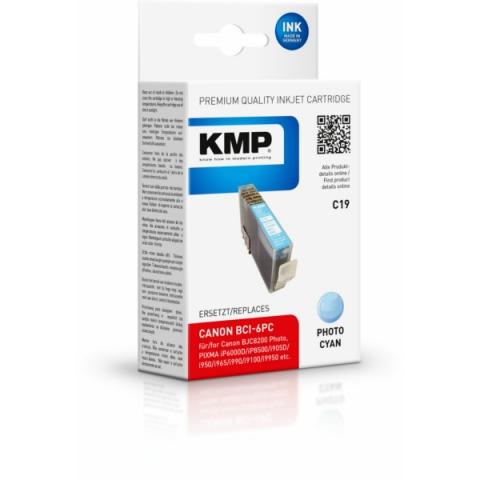 KMP Druckerpatrone ersetzt Canon BCI-6PC mit 17