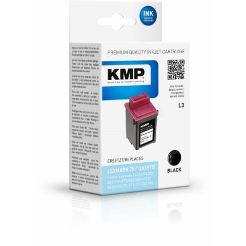 KMP refilled Druckerpatrone mit einem Inhalt von