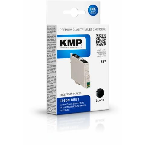 KMP Tintenpatrone ersetzt Epson T0551, Inhalt