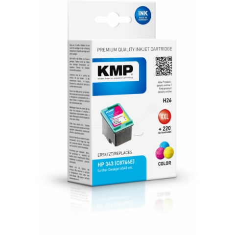 KMP Druckerpatrone für HP Officejet H470 ,