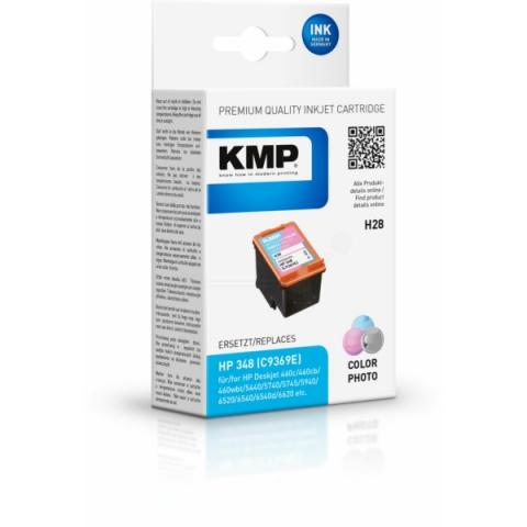 KMP Druckerpatrone Photo mit 22ml für HP, BITTE