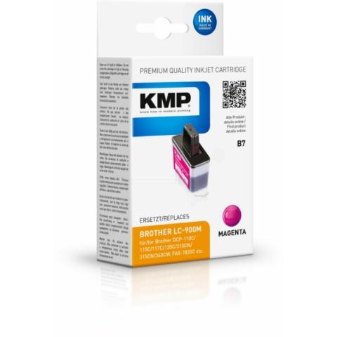 KMP Druckerpatrone ersetzt Brother LC-900M, mit