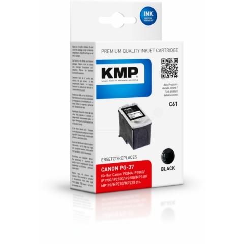 KMP Druckerpatrone ersetzt PG-37 mit 11 ml