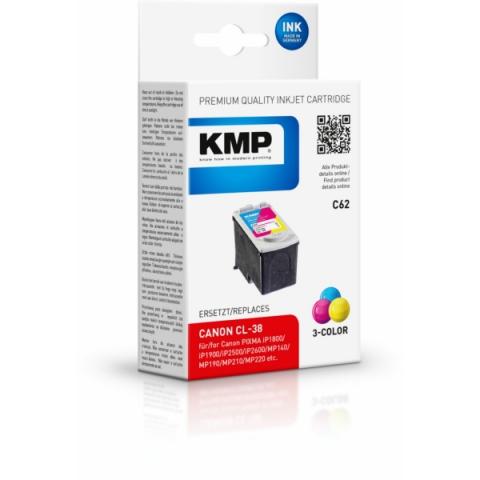 KMP Druckerpatrone ersetzt CL-38 mit 11 ml