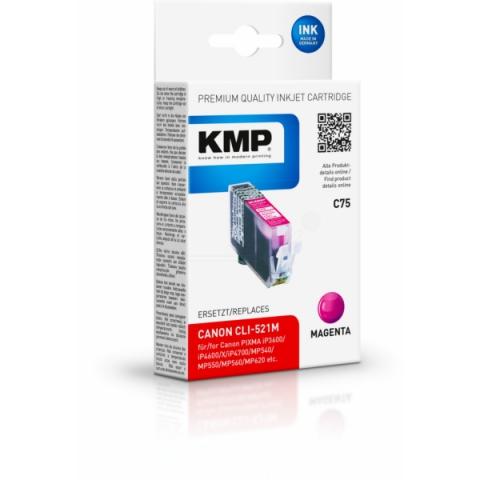 KMP Tintenpatrone von ersetzt Originalpatrone