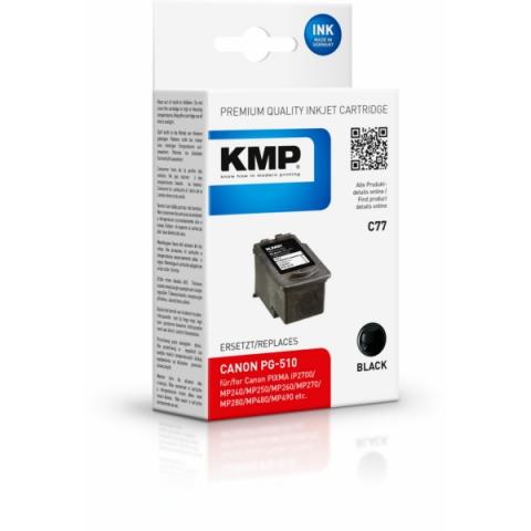 KMP Druckerpatrone, recycelt, ersetzt PG-510 für