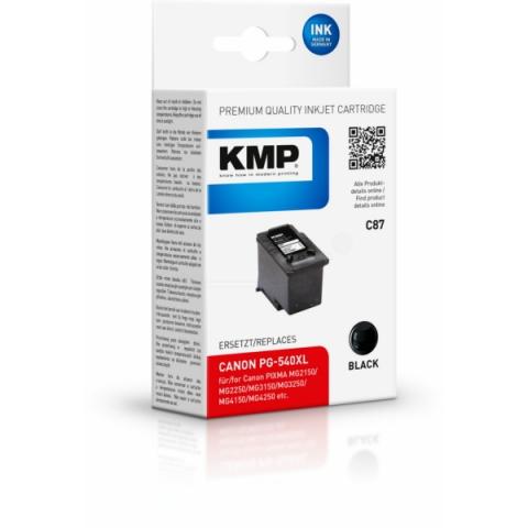 KMP Druckerpatrone, recycelt ersetzt PG-540XL