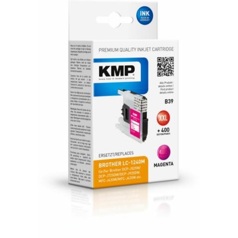 KMP Druckerpatrone ersetzt LC-1240M für Brother