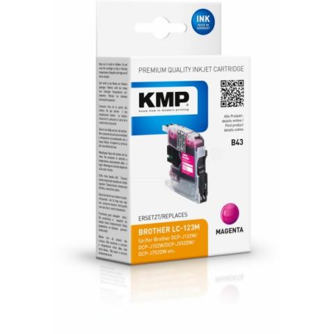 KMP Druckerpatrone, ersetzt original LC-123M für