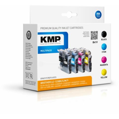 KMP Druckerpatrone, ersetzt original Multipack