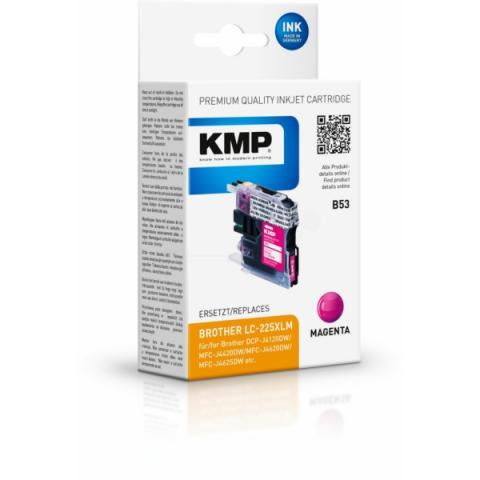 KMP Druckerpatrone, ersetzt Brother