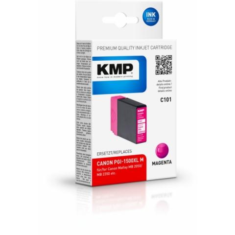 KMP kompatible Tintenpatrone ersetzt PGI1500XLM