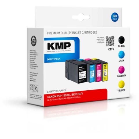 KMP kompatible Tintenpatrone im Multipack,